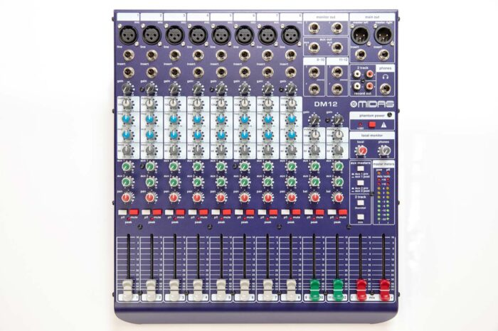 Midas DM12 12 Channel Mixer