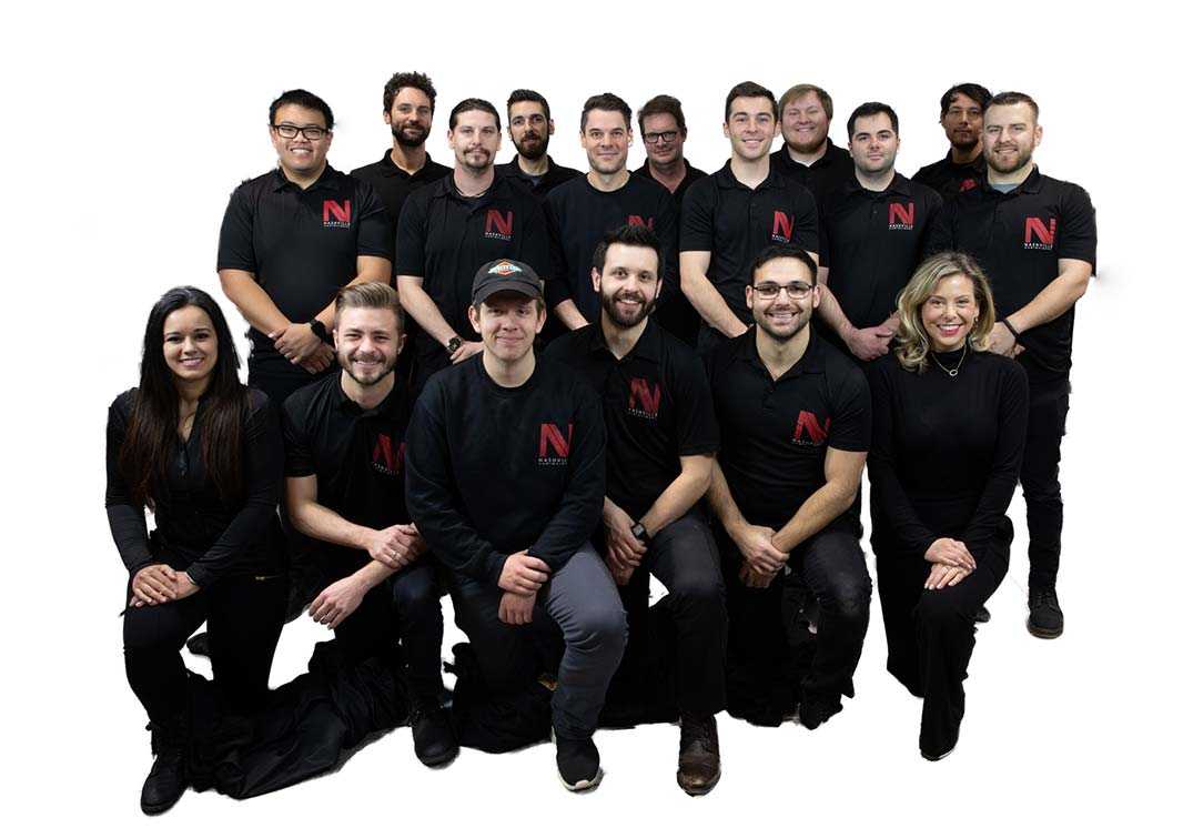 Nashville Audio Visual Team Photo
