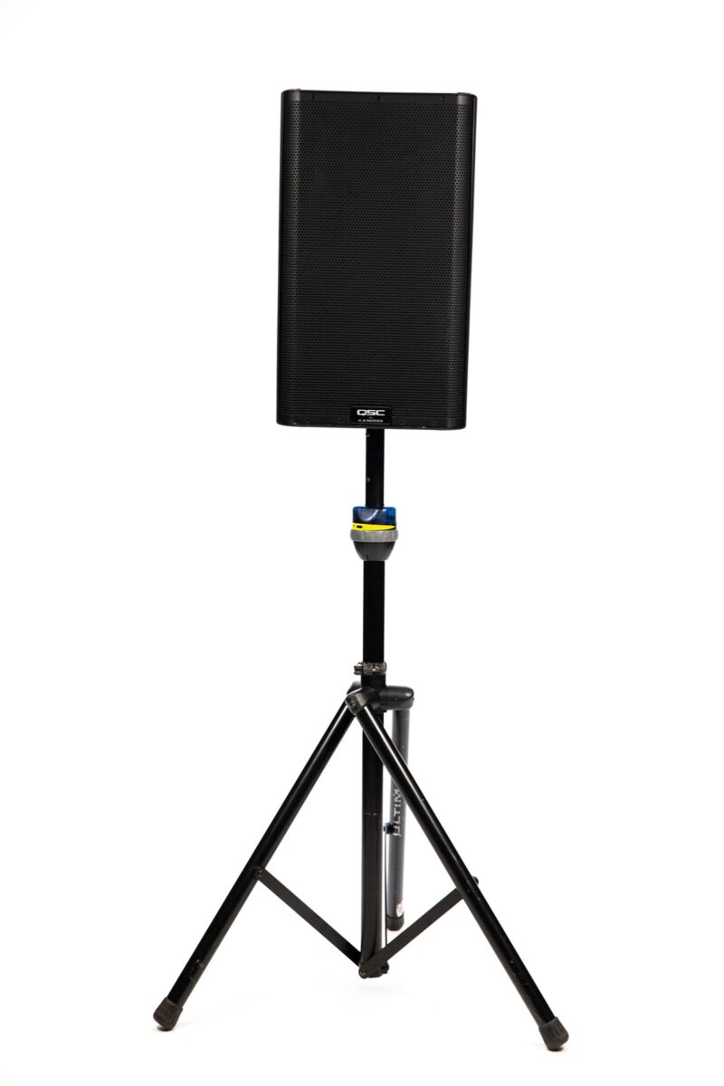 QSC K12 Speaker on Stand