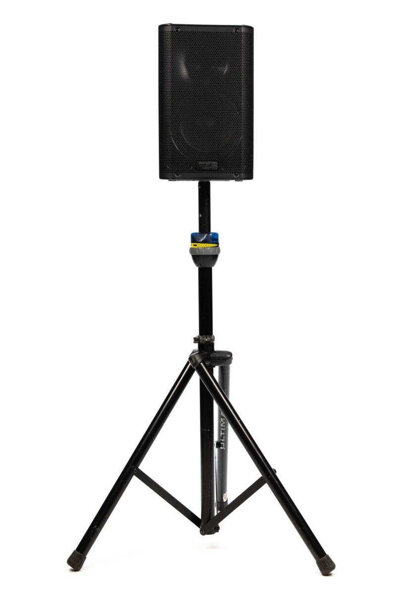 QSC K8 Speaker on Stand