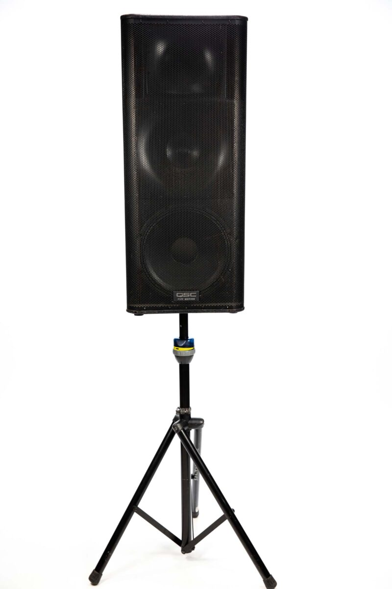 QSC KW 153 Speaker on Stand